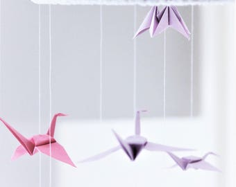Handmade Origami Baby Mobile