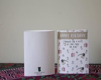 Ibis Birthday Card