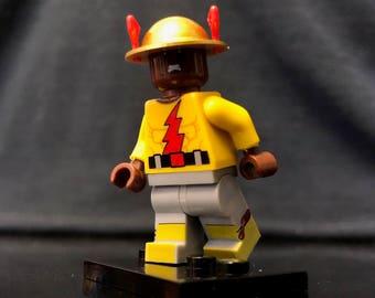 Golden Age Reverse Flash Custom Minifigure | DC Superheroes