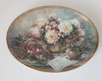 Lena Liu Garden Treasures Plate Bradford Exchange