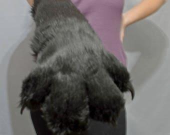 Elbow length fursuit paws!