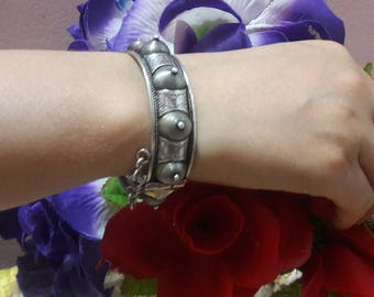 The art of Berber craft with this lovely bracelet d ' pure silver / bracelet/silver Berber bracelet