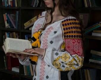 Ukraine Clothing Embroidered Clothes Boho Blouse Vyshyvanka Woman Bohemian Clothes Boho chic Clothing Custom Embroidery Ukrainian Shirt