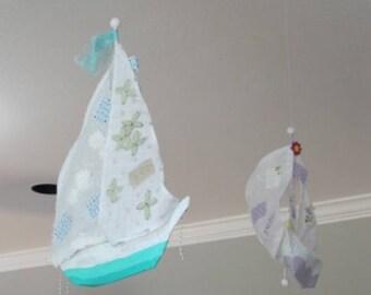 Custom Hanging Sailing Ships