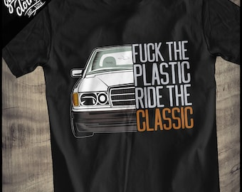 "Mercedes W201 ""FTP"" T-Shirt"