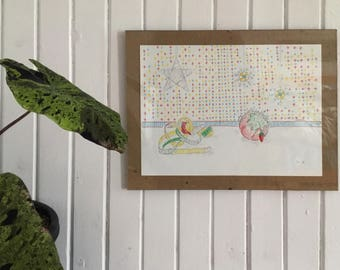 Paper drawings, Abaka