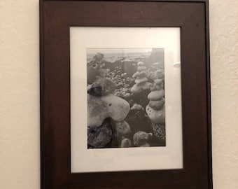 Original Framed Black and White