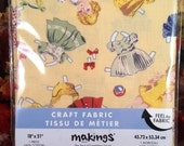 Craft Fabric Paper Doll Theme