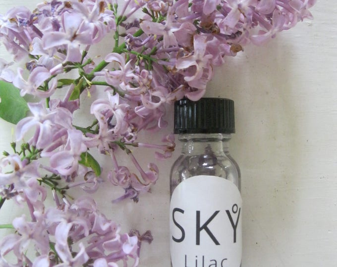 Handmade LILAC flower essence oil / Flower essence therapy oil / Lilac fragrance oil (limited quantity)
