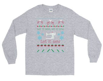 Long Sleeve Let it Sew T-Shirt