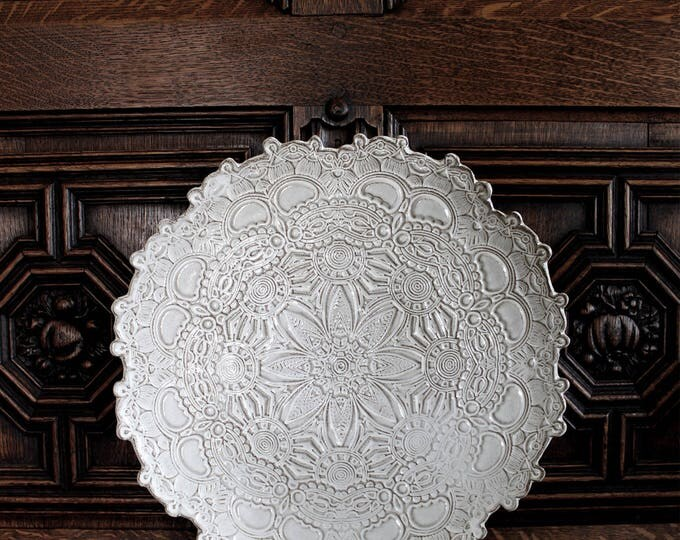 Lacy Mandala Platter