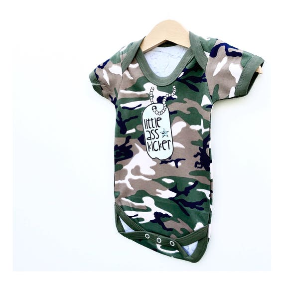 Army Baby Bodysuit Military Baby Funny Baby Clothes Army