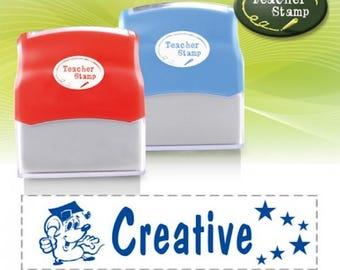 Self-Inking Teacher Stamp - Creative - DS003