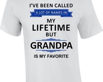 Grandpa Shirt, Grandpa Gift, Father's Day T-Shirt Gift Idea, Grandpa Wedding Gift, Grandpa Birthday Gift, Grandpa Christmas Present