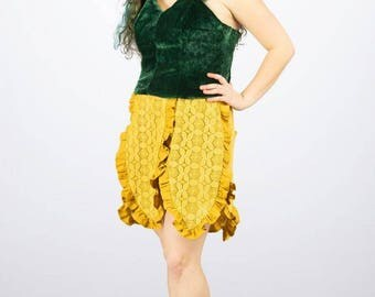 Sunflower Top + Skirt