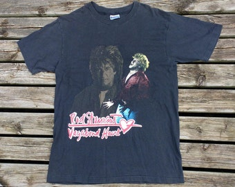 Vintage 90's 1991 Rod Stewart Vagabond Heart Tour concert tee Made in USA Large