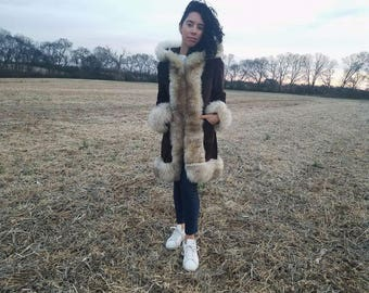 Penny Lane Coat, Afghan Coat, Shearling Coat, Sheepskin, Almost Famous Coat
