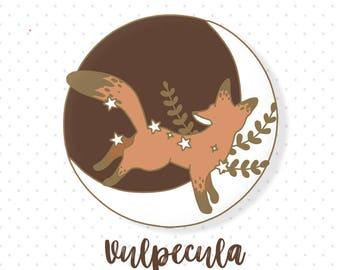 PREORDER ~ Vulpecula Enamel Pin