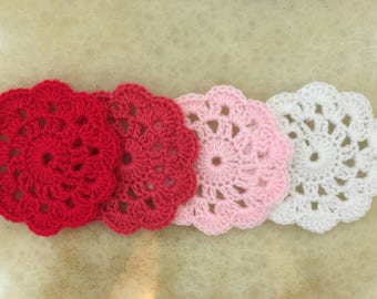 Crochet Coasters (Set of 4)