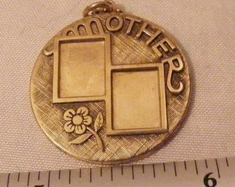 Vintage Mother Charm or Pendant by Anson