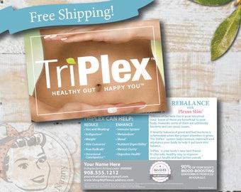 Plexus TriPlex Slim Sample Postcard - Free Shipping