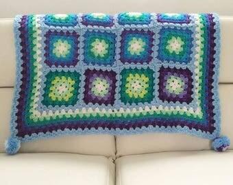Sea inspired Baby Blanket