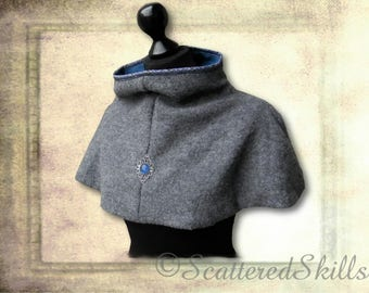Pure wool collar, for LARP. Middle Ages