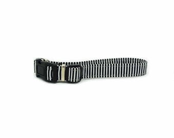 Monochrome Dog Collar