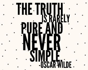Quote magnet- Oscar Wilde