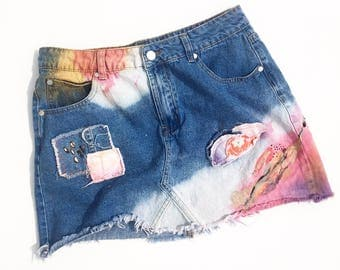 Cassie's Shop Denim skirt!!