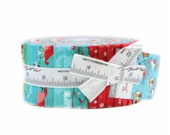 Jingle Birds - Jelly Roll - by Keiki for Moda