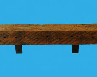 "barn beam floating slab shelf 22-3/4"" by 6"" by 2-3/4""- shelf 691"