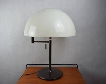 Original Swiss Mid Century Modern Table Lamp, Desk Lamp, Swisslamps International SLZ Zürich,