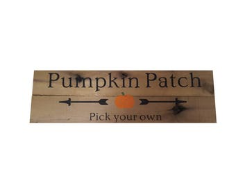 Pumpkin Patch Pallet Sign