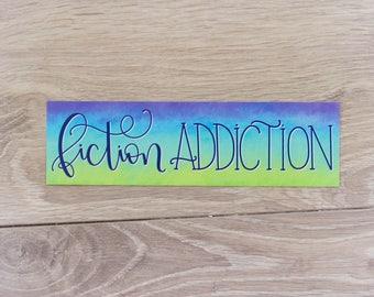 Fiction Addiction - Bookmark