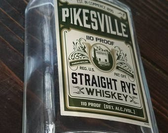 Pikesville Rye whiskey cigar ashtray