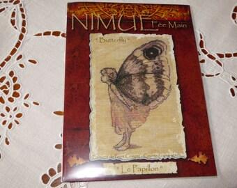 """Nimue fairy handmade """"Butterfly"""" pattern"""