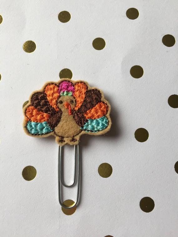 Lilly Turkey planner Clip/Planner Clip/Bookmark. Holiday Planner Clip. Fall Planner Clip. Thanksgiving Planner Clip. Turkey Planner Clip