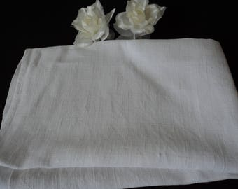 French vintage pure linen tea towel / torchon (05857)