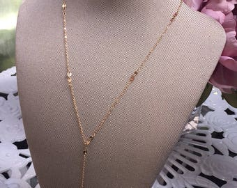 Gold Chain Layer Choker Necklace
