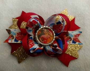 Princess Elena of Avalor hair bow