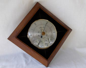 Vintage Airguide Weather Station, Thermometer,Barometer,Humidity