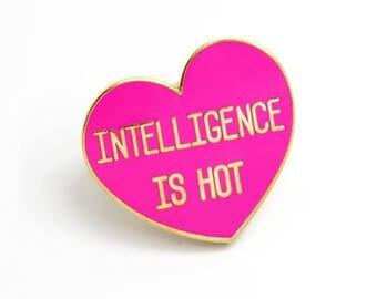 Gift for her, Heart Enamel Pin, Cute Lapel Pin, Glitter Enamel Pin, Heart Jewelry, Bright Pink Enamel Pin