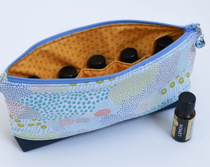 Featured listing image: Essential Oil Pouch - Soft Blue