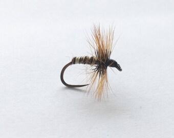 Stiff Hackle Wool Body Kebari (3 flies)