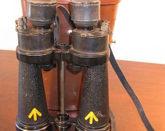 WW2 Vintage British Admiralty Pattern Royal Navy Barr & Stroud CF41 x7 Binoculars Circa 1944