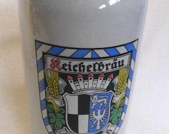Rare 2 liter beer stone-Reichelbrau Kulmbach beer-Beer