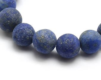 8mm Natural Frosted Lapis Lazuli Beads Round 8mm Lapis Lazuli 8mm Lapis 8mm Beads Blue Lapis Stone Lapis Lazuli Stone Blue