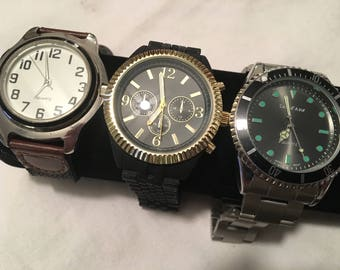 Three 3 Ready To Wear Wrist Watch