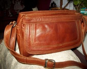 Vintage Tasha leather ladies handbag